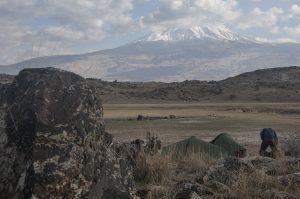 Camping under Ararat