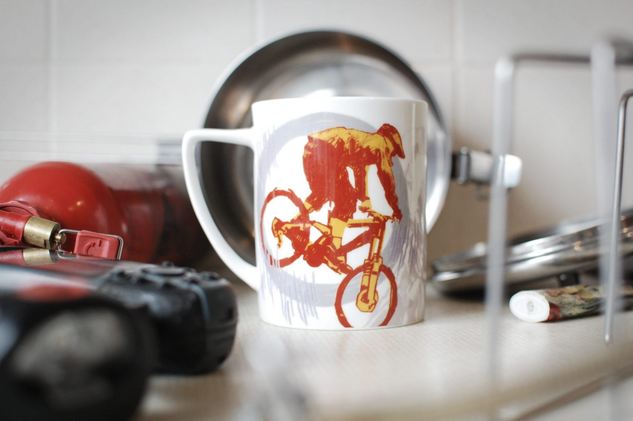 Leigh Timmis cyclist tea light
