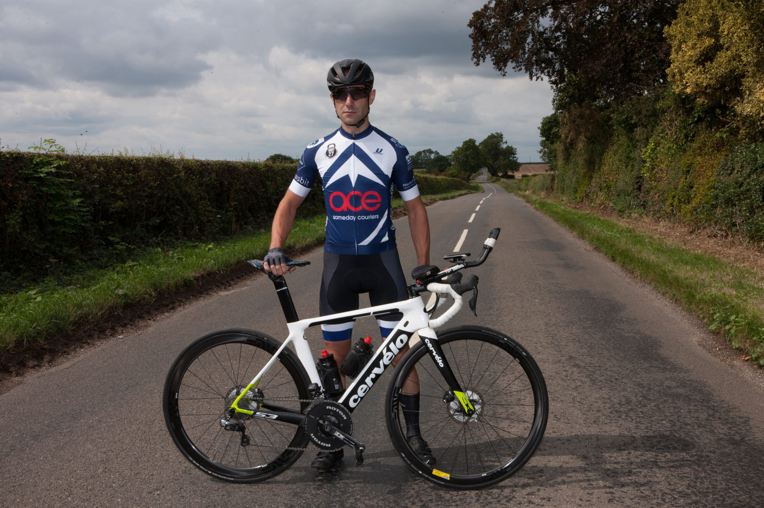 Leigh Timmis Guinness World Record Cyclist Fastest Cycle Across Europe