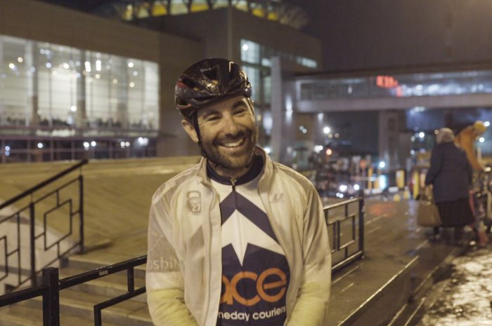 Leigh Timmis Guinness World Record Fastest Cycle Across Europe Smiles At Finish Line